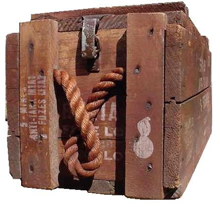 5 mine m1 antitank caisse en bois. Black Bedroom Furniture Sets. Home Design Ideas