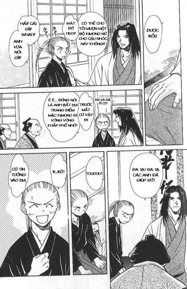 Soshite Haru No Tsuki chap 4 - Trang 8