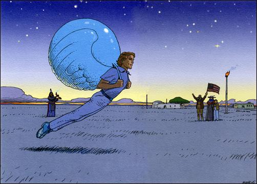 Ici Gir - disparition d'un géant dans 3 - Imaginaciens - magiciens de l'imaginaire moebiu11