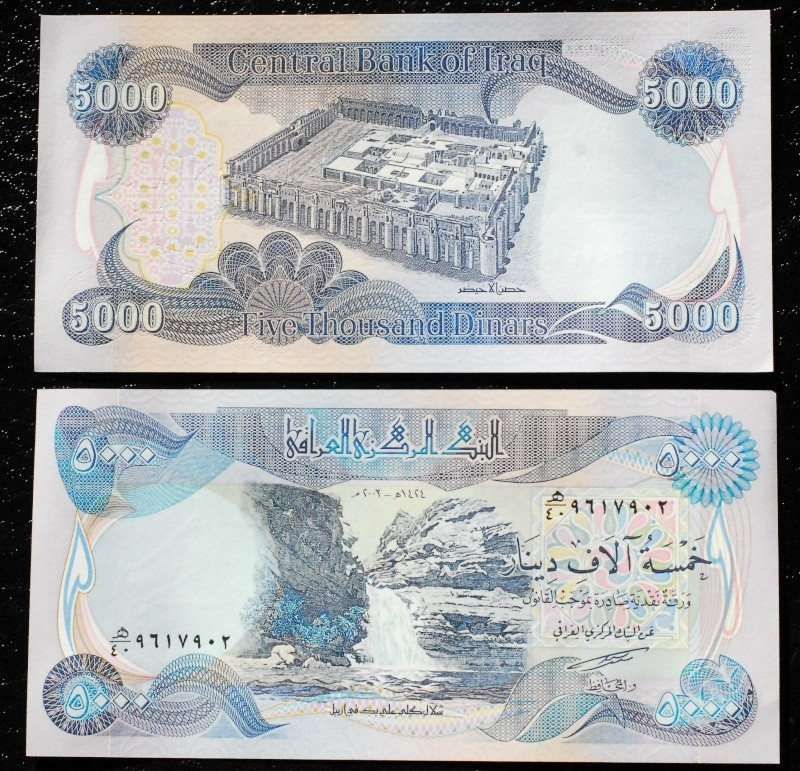 New Iraqi Dinar Currency