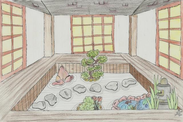 Comment dessiner un jardin elegant cotejpg with comment dessiner un jardin comment dessiner un - Dessiner un jardin ...