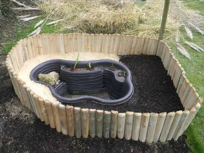 Comment faire un bassin pour tortue d 39 eau - Bassin pour tortue aquatique villeurbanne ...