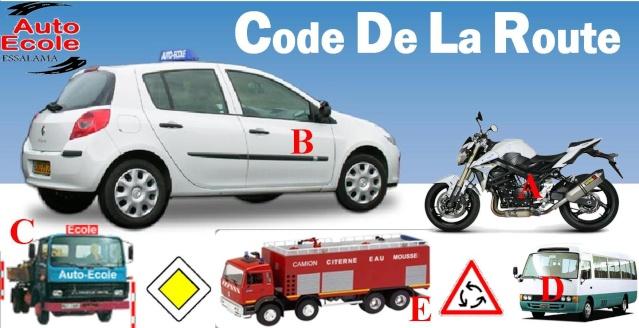 Code De La Route   قانون المرور  Code Rousseau