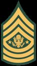 Sargento Mayor del Ejercito