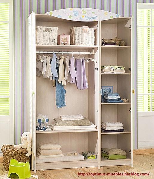 Como hacer un mueble de madera para ropa de bebe - Como hacer puertas de armario ...