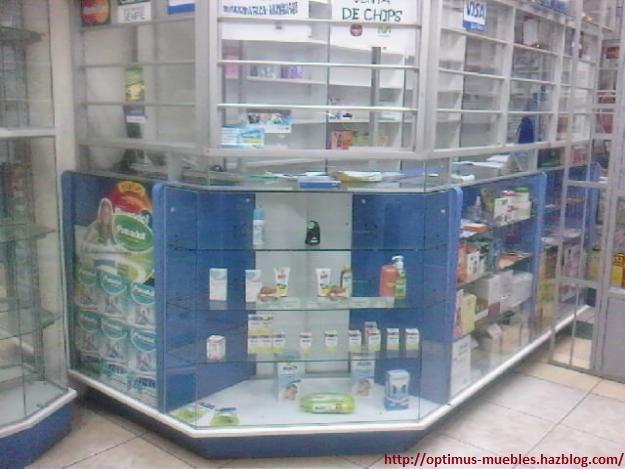 Optimus muebles muebles de farmacia for Muebles para farmacia
