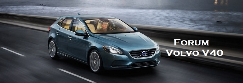 Forum Volvo V40 2012