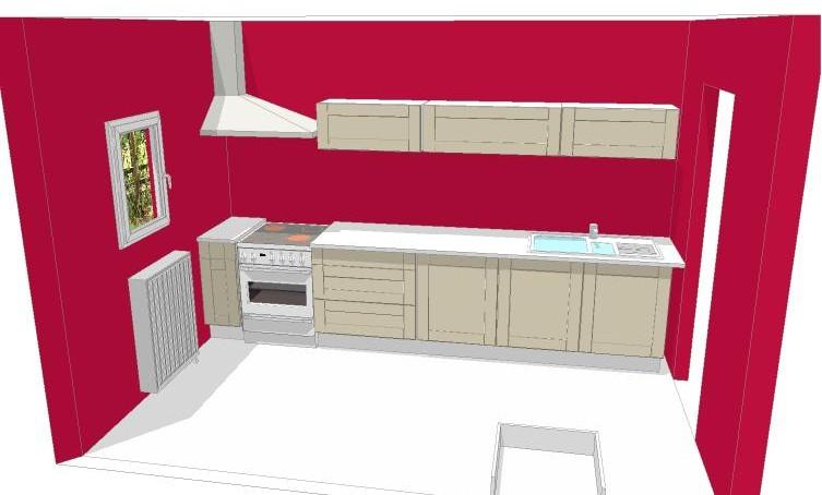 Maison en r novation rafra chir quelles couleurs pour notre s jour salon cuisine ouverte for Quelle peinture pour meuble