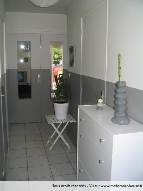 carrelage gris dans mon entr e quelles couleurs associer pour quelle ambiance. Black Bedroom Furniture Sets. Home Design Ideas