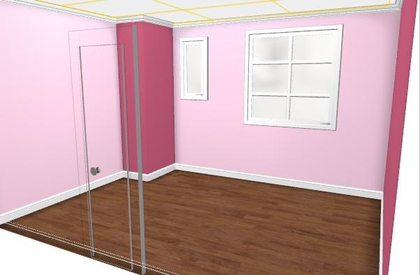 maison rafra chir la chambre de ma fille de 2 ans 2 murs peints a avance page 4. Black Bedroom Furniture Sets. Home Design Ideas