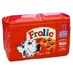 Frolic Dog Food Manufacturer