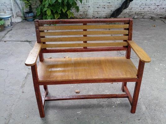 Banco de madera para jard n hazlo tu mismo taringa for Bancos madera jardin
