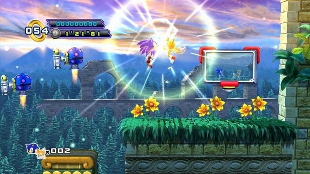 لعبة الاكشن والمغامرة الرائعة Sonic
