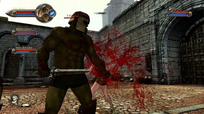 حصريا لعبة الاكشن والقتال الرهيبة Clan of Champions 2012