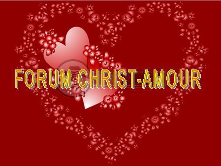 Le Christ est l'Amour