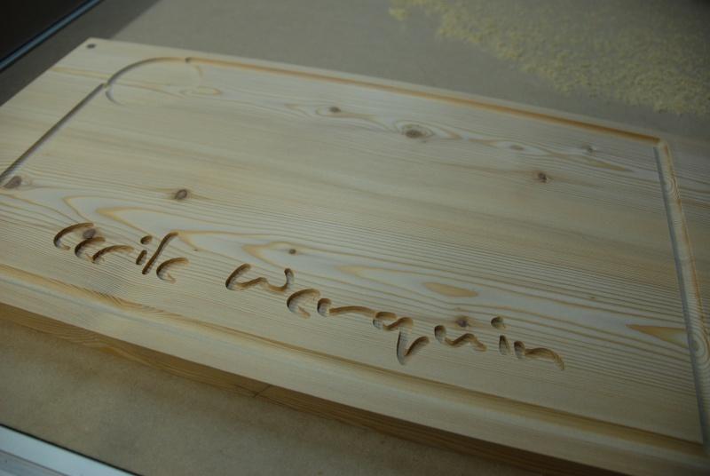 mon histoire de cnc Page 3 # Planche À Découper Personnalisée Bois