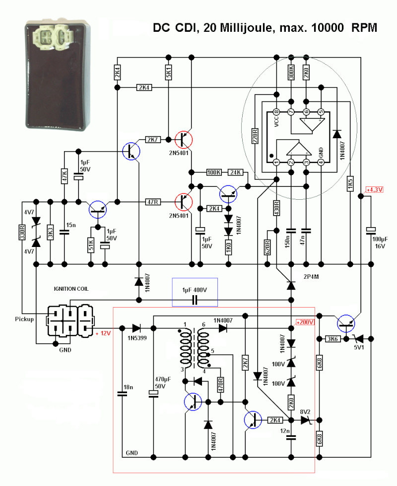 150cc cdi ignition wiring diagram chinese cdi wiring