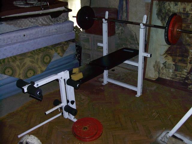 mon home gym. Black Bedroom Furniture Sets. Home Design Ideas