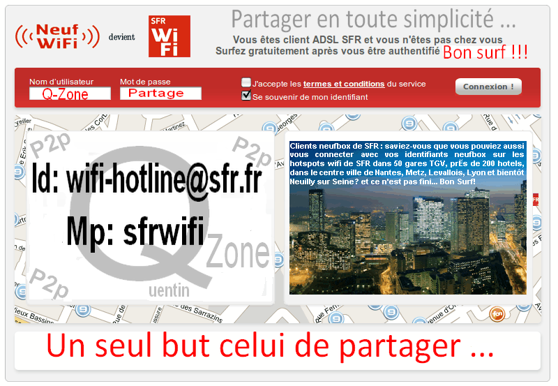 generateur code sfr free wifi hotspot