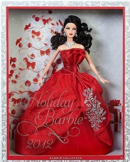 Barbie joyeux no l 2012 - Barbie de noel 2012 ...