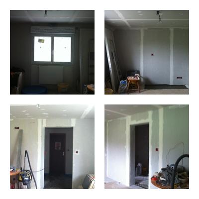 Chambre parentale associations de couleurs aubergine gris for Peinture chambre parentale